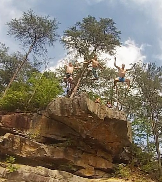 Zdub rock jumping